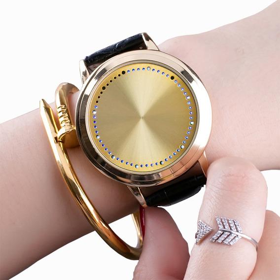 Reloj Led WatchFn4 Digital Nike Touch Azul De Screen kwOPn0
