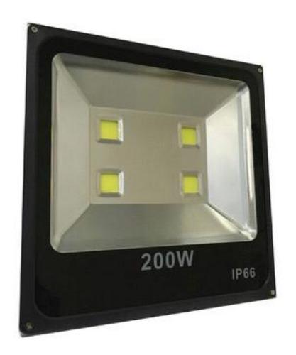 Reflector Led 200w Bajo Consumo Alta Potencia Exterior