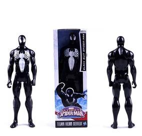 Boneco Homem Aranha Preto Marvel 30cm Hasbro Pronta Entrega