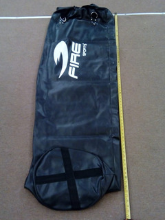 Costal Extra Grande 1.8m Negro Fire Sports Saco Box