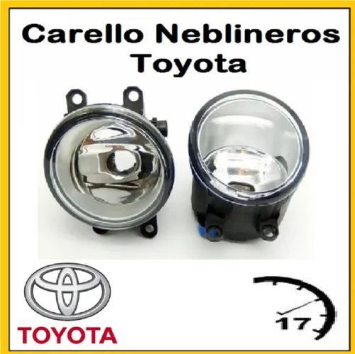 Carello Neblineros Toyota Corolla  2009 2010  2012 2014