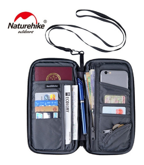Carteira P/ Viagens Port Documentos Travel Wallet Naturehike