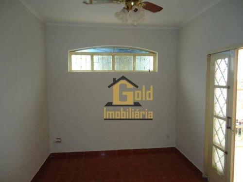 Casa Com 3 Dormitórios À Venda, 86 M² Por R$ 318.000,00 - Jardim Paulistano - Ribeirão Preto/sp - Ca1013