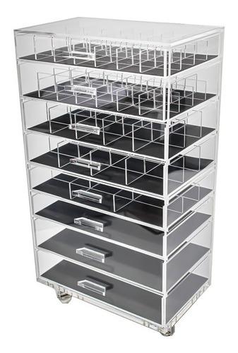 Carrinho Acrílico Organizador De Acessórios Compacto N3