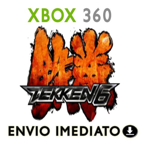 Tekken 6 Xbox 360 Mídia Digital Original + Brinde