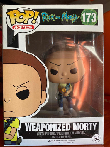 Funko Pop Morty Weaponized 173 Rick And Morty