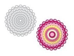 Scrapbooking Sizzix Dies Troqueles Scallop Circles Circulos