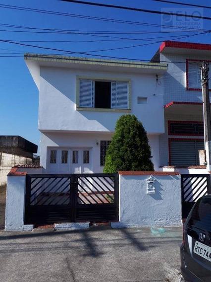 Casa Com 3 Dormitórios Para Alugar, 180 M² Por R$ 1.500,00/ano - Esplanada Dos Barreiros - São Vicente/sp - Ca0143