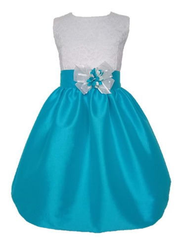 Vestidos Elegantes Para Niñas. Tallas: 4-6-8   Ref: Verónica
