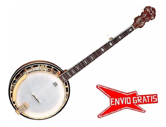 Banjo Fender Fb59 Resonador De Nogal Escala 26.4 Sale%