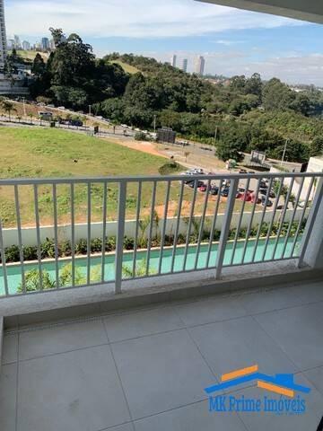 Imagem 1 de 15 de Apartamento 54,8 M² Com 2 Dormitórios Sendo 1 Suíte Em Alphaville! - 2269