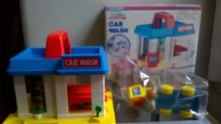 Lavadero Car Wash Blue Box - Juguetes Devoto