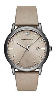Reloj Armani Hombre Clásico Cuero Agente Oficial Ar11116