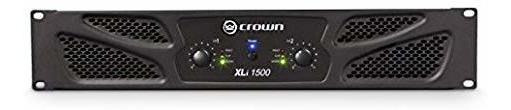 Amplificador Crown Xli1500 Two Canales 450w At 4¿ Power Am ®