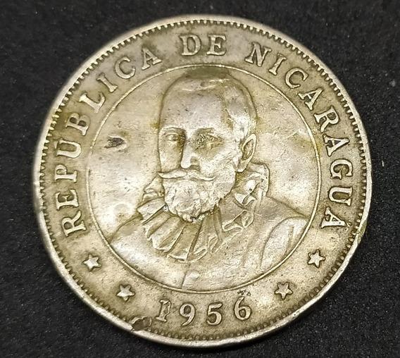 Nicaragua - Moneda De 50 Ctvs De Córdoba - Año 1956