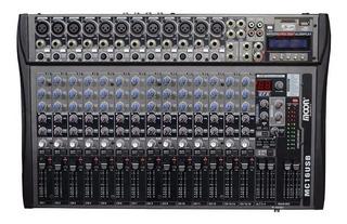 Consola Moon Mc16usb Mixer 16 Canales Sd Efectos Hot Sale