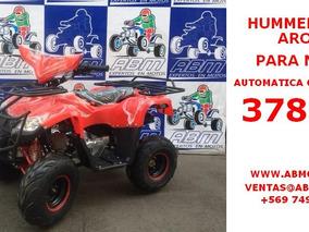 Moto Atv Hummer 125cc Aro 7 A Solo $ 450.000 Con Iva