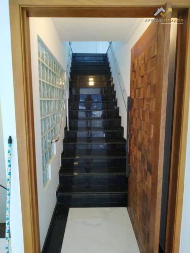 Sala Para Alugar, 250 M² Por R$ 5.400,00/mês - Vila Alzira - Santo André/sp - Sa0030