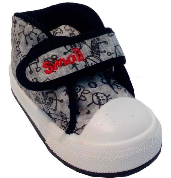 Zapatillas Botitas Bebe Niños Marca Small Modelo Nex (0122)
