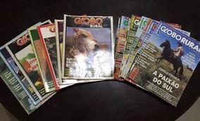 Revistas Globo Rural - Raríssima Coleção - Nº1 Ao 185