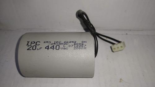 Capacitor Cerca Eletrica 20uf 440vac 5% Ipc 48x70mm