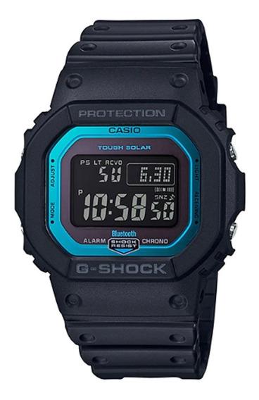 Relógio G-shock Gw-b5600-2dr Tough Solar Bluetooth Nfe