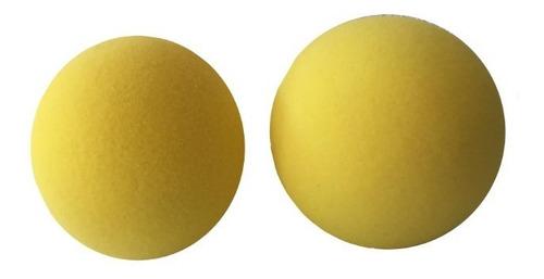 Balón  Medicinal Esponja Pack 2 Unidades De 6 Pulgadas