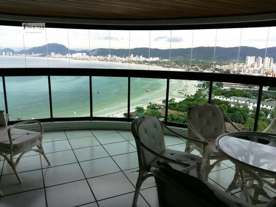 Apartamento A Venda No Bairro Enseada Em Guarujá - Sp. - 684-1
