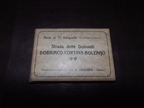 Fotografia Fotos Antigas Embalagem Original Strada Dolomiti