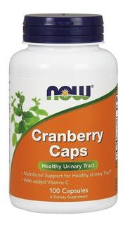 Cranberry Concentrado Now Foods 100 Cap Cran Berry Importado