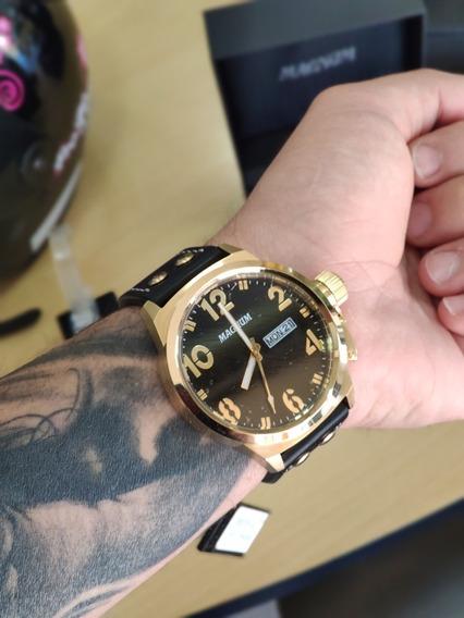 Relógio Magnum Original 2 Anos De Garantia Com Nfe