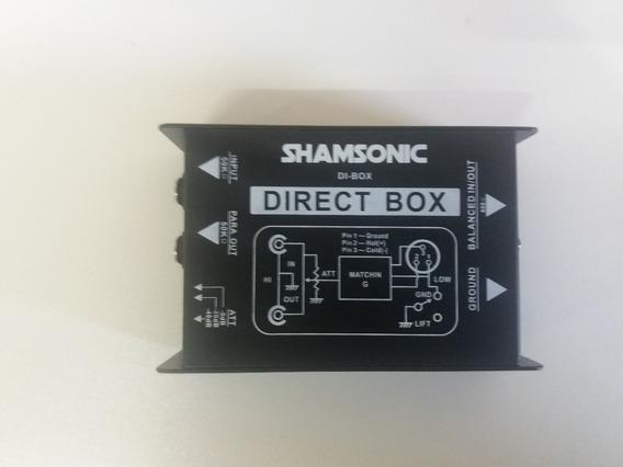 02 Direct Box Passivo Shansonic -igual Di400p Behringer
