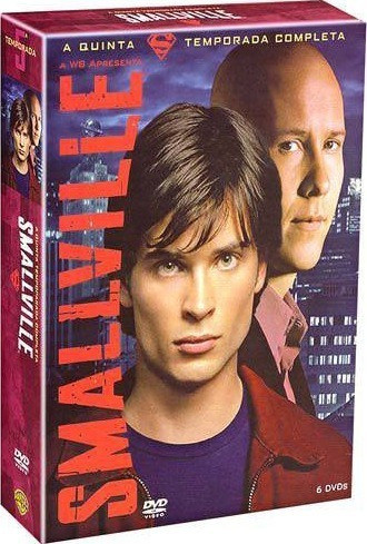 Box Dvd Smallville - 5ª Temporada Novo E Lacrado!