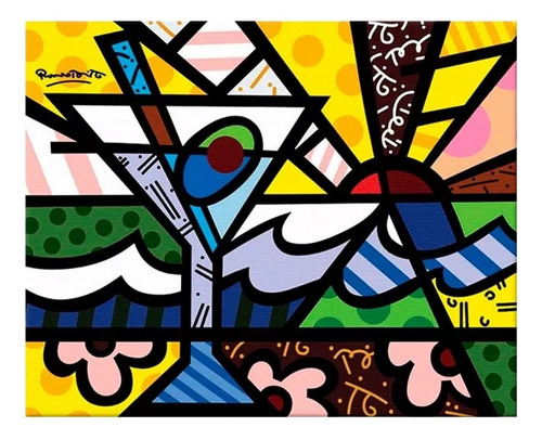 Cuadros Modernos Decorativos Pop Art, Romero Britto