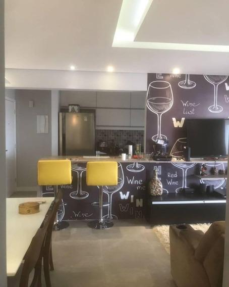 Reserva Chamantá - 87m² 3 Dormitórios Sendo 1 Suíte 2 Vagas Varanda Gourmet! - 750 - 34891031