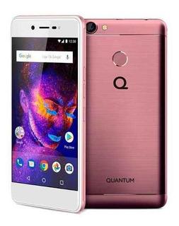 Celular Quantum You E Rosa 4g Dual Chip 32gb Biometria