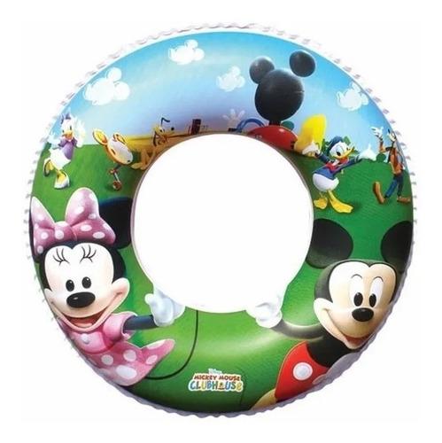 Salvavidas Inflable Circular Marvel Mickey Princesas Bestway