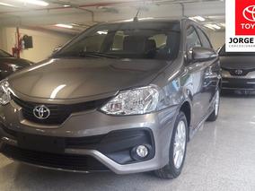 Auto Etios Xls 5 Puertas A/t Toyota -jorge Ferro Financiado
