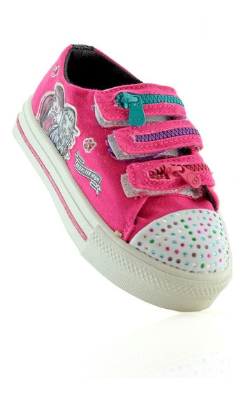 Zapatillas Addnice Monster High Luces 334-94 Luminares
