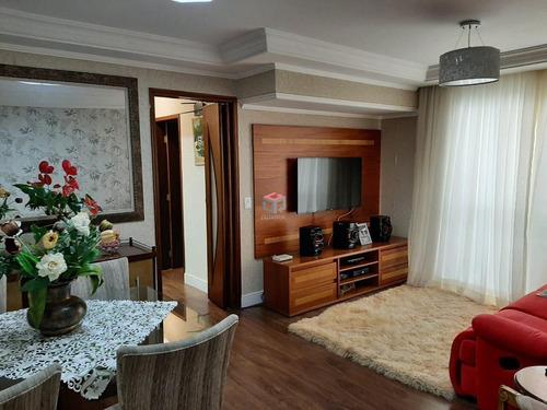 Imagem 1 de 20 de Apartamento À Venda, 3 Quartos, 1 Suíte, 2 Vagas, Gilda - Santo André/sp - 99632
