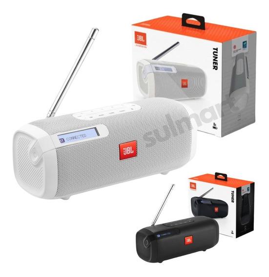 Jbl Tuner Fm Original Caixa De Som Bluetooth Rádio Com Rds