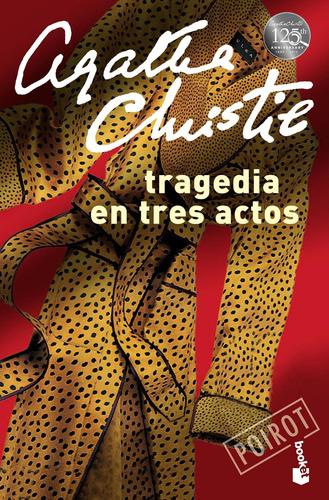 Imagen 1 de 2 de Tragedia En Tres Actos Agatha Christie Booket