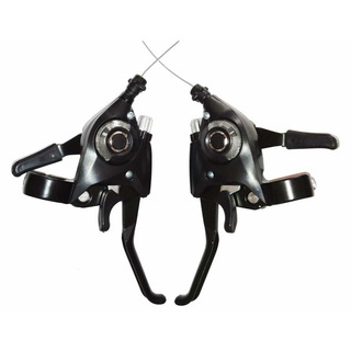 Shifters Integrados 3x8 Tipo Ez Fire Shimano Compatible