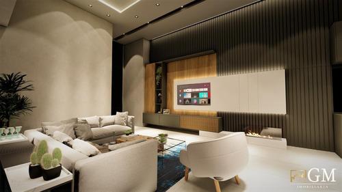Casa Em Condomínio Para Venda Em Presidente Prudente, Parque Residencial Damha Iii, 3 Dormitórios, 4 Banheiros - Ccv57801_2-1161927