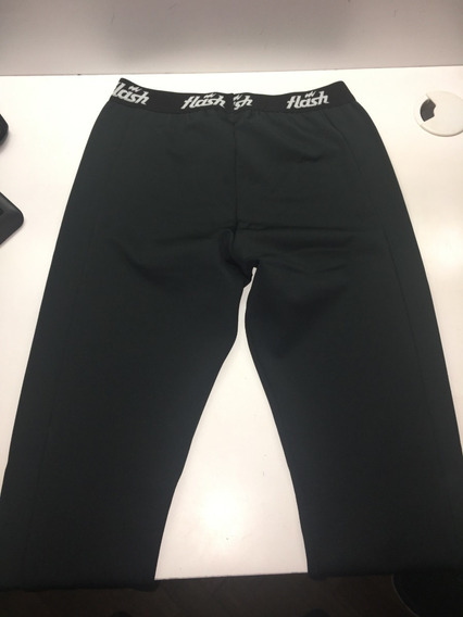 Calzas Termicas Largas Flash Color Negro
