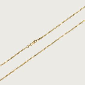 Cordão De Ouro Veneziano Feminino 45cm