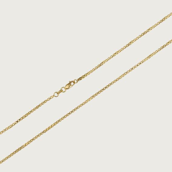 Cordão De Ouro Veneziano Feminino Com 45cm - 2,2gr