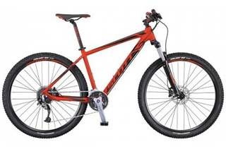 Bicicleta Scott Aspect 740 M Roja Aluminio Ciclismo Znorte