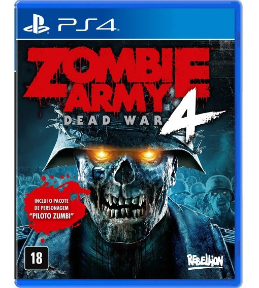 Jogo Ps4 Zombie Army 4: Dead War - Day One Edition