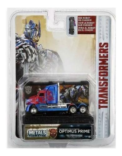 Camion Transformers Optimus Prime 1.64 Jada Amoamisjuguetes